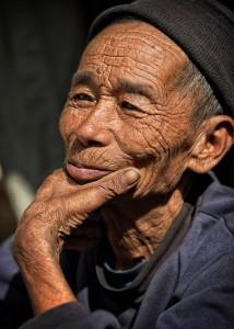 Ageing indigenous Laos