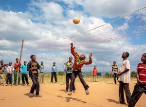 Ethiopia boys volleyball