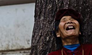 laughing tibetan