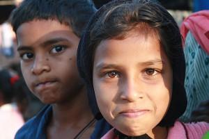 Goa migrant children