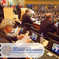The ILO Hosts the 106th Session of the International Labour Conference