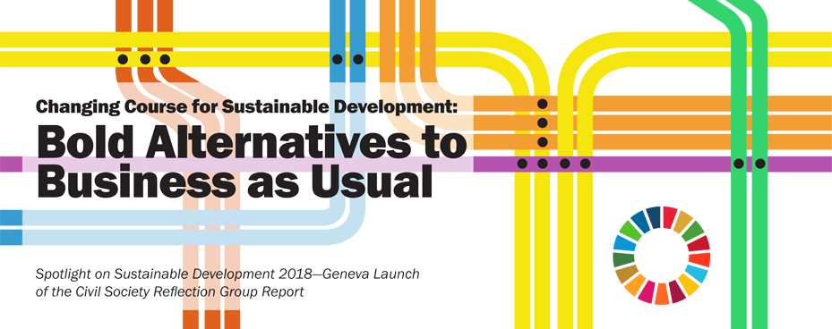 Launch of the Spotlight on Sustainable Development Report